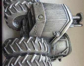 Vintage Tractor  Belt Buckle