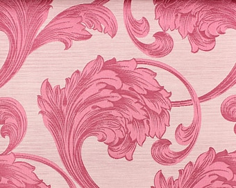 Custom Curtains in Rose in Floral Pattern One Panel Custom sizes available