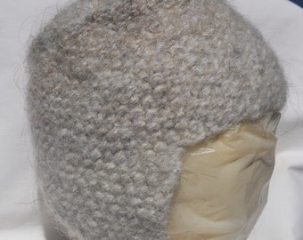 Felted Ear Flap Hat