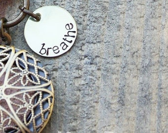 name or word pendant add on pendant for kristin