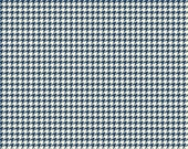 Trendsetter Houndstooth Navy by Fancy Pants Designs for Riley Blake, 1/2 yard