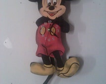 Unique Mickey Mouse Clock Related Items Etsy