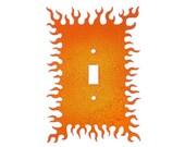 Decorative Lightswitch Flames - Single Switch