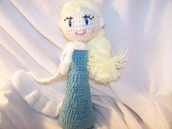 Crochet Elsa Doll Free : Crochet Elsa doll frozen by EEKsCreations on Etsy