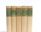 Charles Dickens Set of 5 ~ Hard Times, Oliver Twist, Mystery of Edwin Drood, Great Expectations, A Christmas Carol and Other Stories