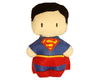 Felt Superman Plushie