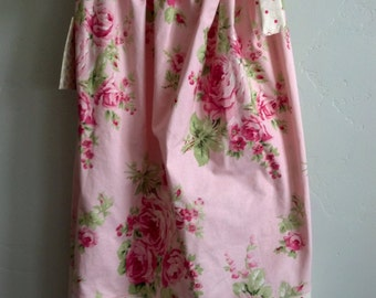 Barefoot Roses  Pillowcase sundress size 5 girls
