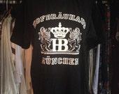 Vintage Hofbrauhaus Munich Black T-Shirt
