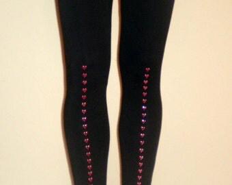 Row of Hearts Leggings