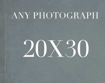 20x30 Photography Wall Art, Large Wall Art, Photography Print 20x30