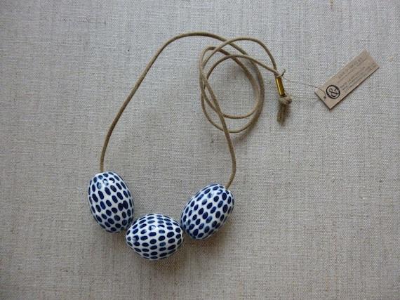 Indigo Dash Necklace