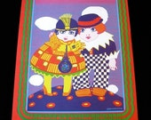 Moscoso 1967 Neon Rose Poster Fillmore era BLUSHING PEONY Haight Ashbury NR-17