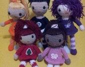 Amazing Miniature Amigurumi Dolls