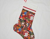 SALE Freshly Baked Christmas Cookies Stocking