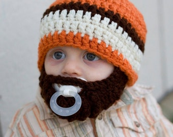 SALE!! Infant ULTIMATE Carrot Bearded Beanie Mix