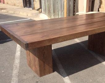 3 foot x 6 foot column table