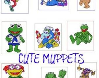 28 muppet embroidery designs BOGO instant download