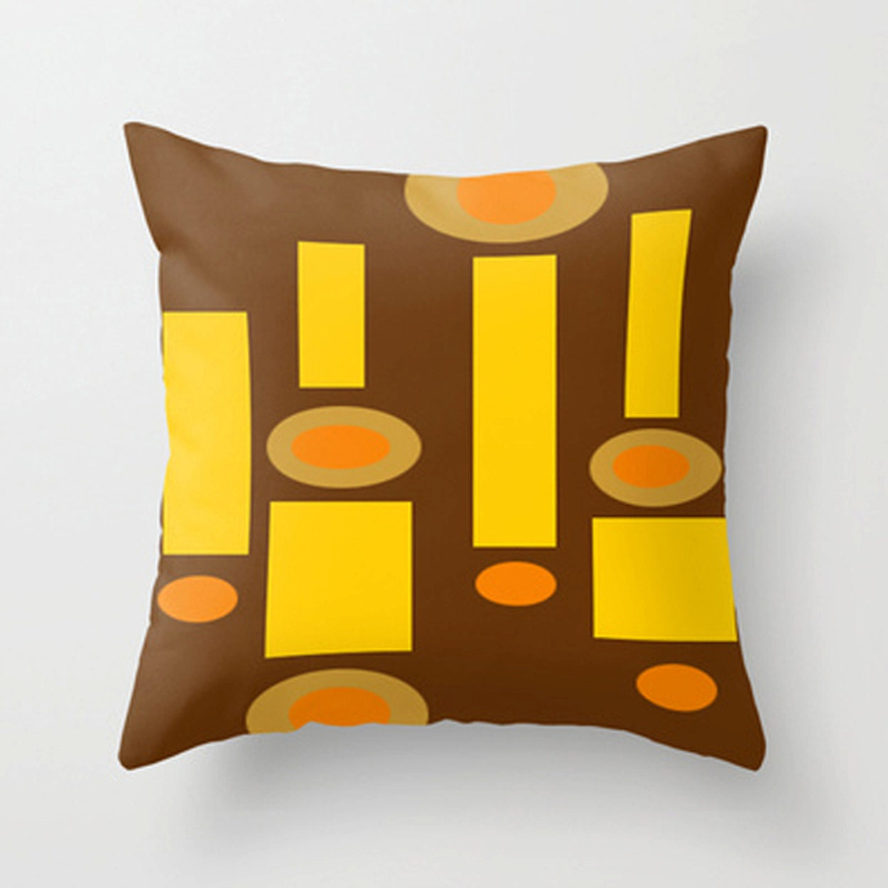 Modern Pillow Cover Retro Throw Pillow Cover Mid Century