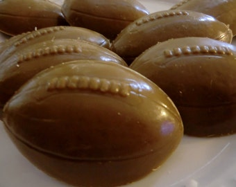 30 Football Soap - sports baby shower favor, birthday party favor