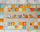 Custom Order Birdie Quilt for Jessica