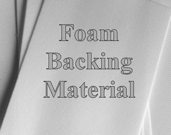 "Backing Material Foam  for roller-printing (package of 6) 5"" x 7"""