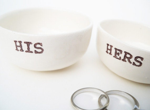 His And Her Wedding Shower Gifts : HIS HERS GIFT bridal shower gifts wedding gift for bride handmade ...