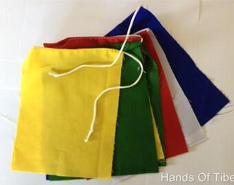 Tibetan buddhist Blank Prayer Flags