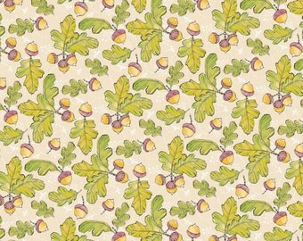 Good Company - Little Acorns in Ivory by Cori Dantini for Blend Fabrics
