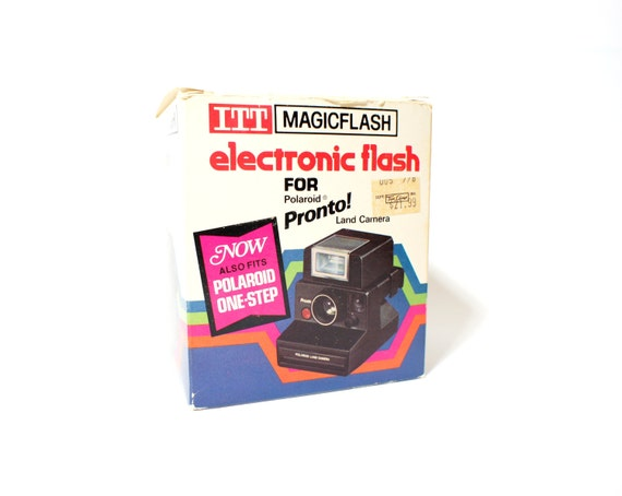 ITT Flash for SX-70 Cameras - Tested Working