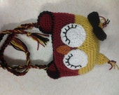 Adult Sleepy Owl Beanie