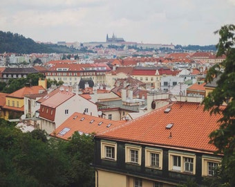 Views of Prague - 8x10 Fine Art Photograph, Czech Republic, Europe, European Travel Photography, St. Vitus Cathedral