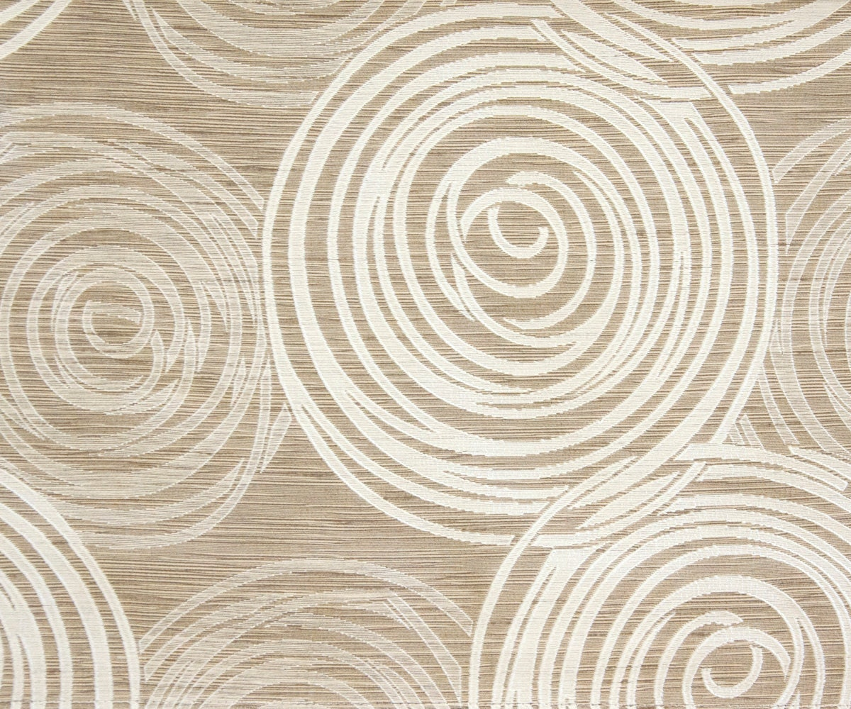 Beige Illusion VE Fabric By The Yard Curtain Fabric by FabricMart