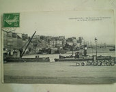 Cherbourg - 1913 - Antique French Postcard