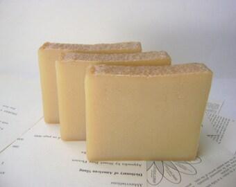 Vanilla Bergamot Handmade Soap with Kaolin Clay, All Natural