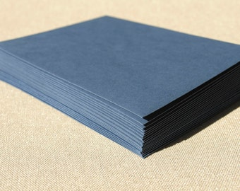 Navy Blue Envelopes - Set of 20 Dark Blue Envelopes