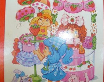 Strawberry Shortcake Puzzle Vintage