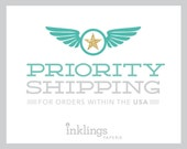 Priority Shipping Upgrade // Add-on for orders within the U.S.