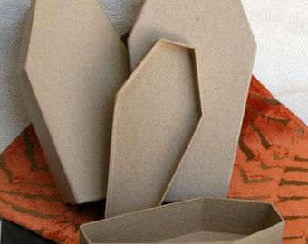 SALE:  Coffin Party Kit, Set of 25 Medium Coffins