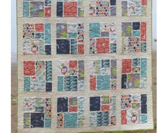 Tatami Mat Quilt Pattern by Lunden Designs