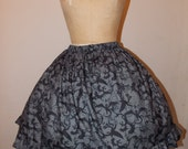 Custom made to order How to Train Your Dragon Toothless Goosebumps Ruffled Skirt