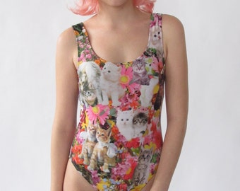 Kitty Garden Party One Piece Swimsuit