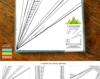 STRIA Blank Notecards : Multi Pack