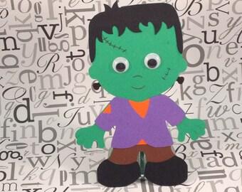 Frankenstein craft kit for kids for halloween or fall