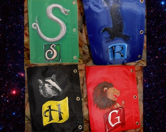 Harry Potter Binder Pouch- choose 1 Gryffindor Slytherin Ravenclaw Hufflepuff