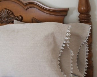 country french Linen Pillowcases
