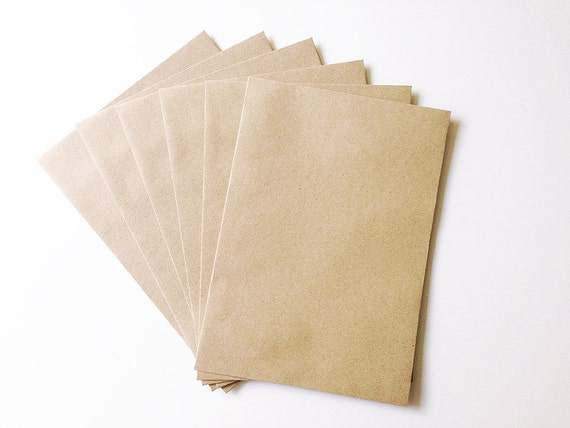 Envelope Size 6 x 9 Inch