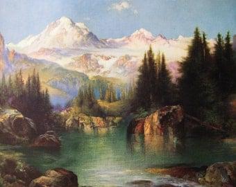 Mountain Majestic Calendar Art Print