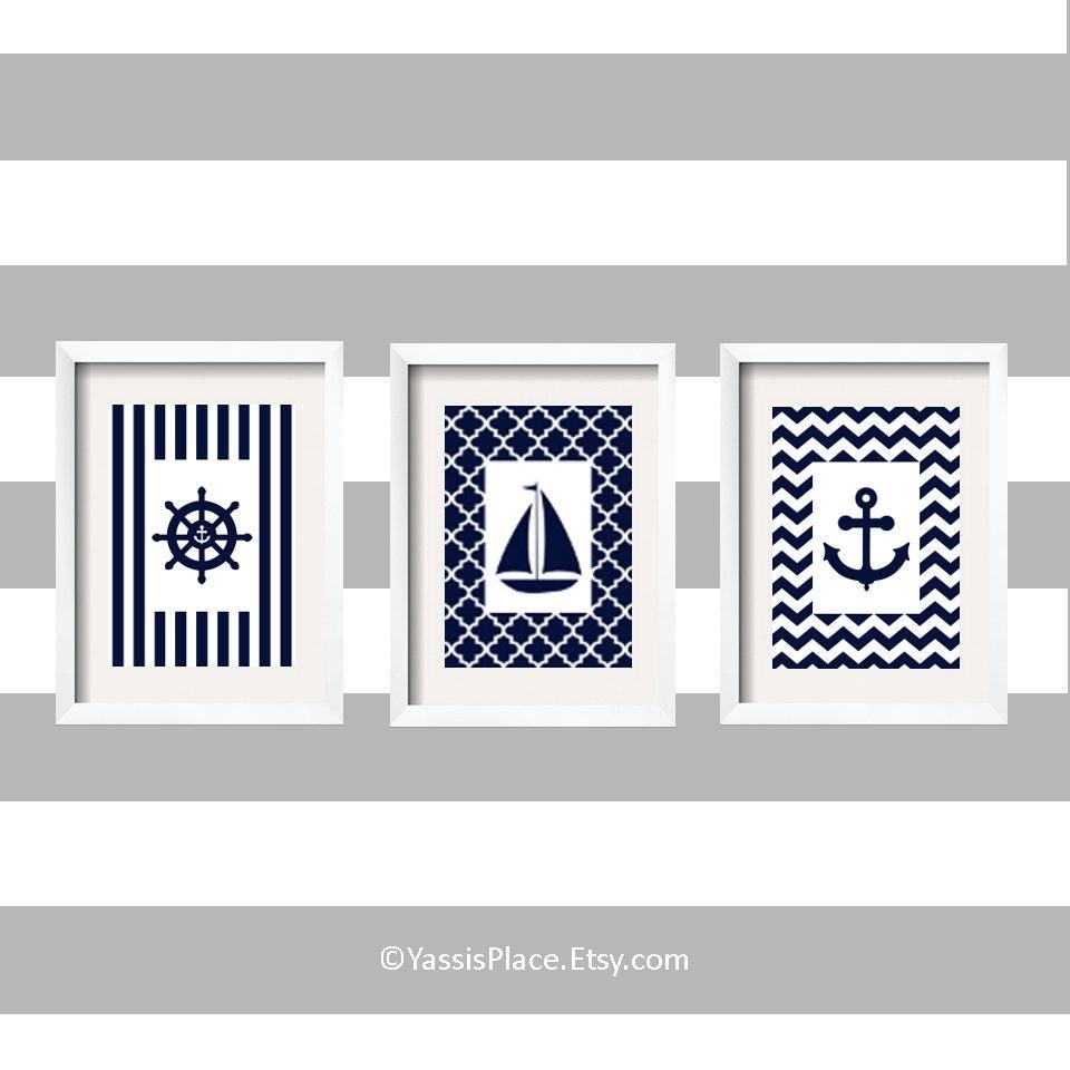 nautical nursery decor sailboat nursery decor anchor decor. Black Bedroom Furniture Sets. Home Design Ideas