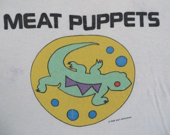 MEAT PUPPETS 1986 tour T SHIRT
