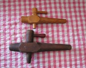 Vintage Wooden Spigot.